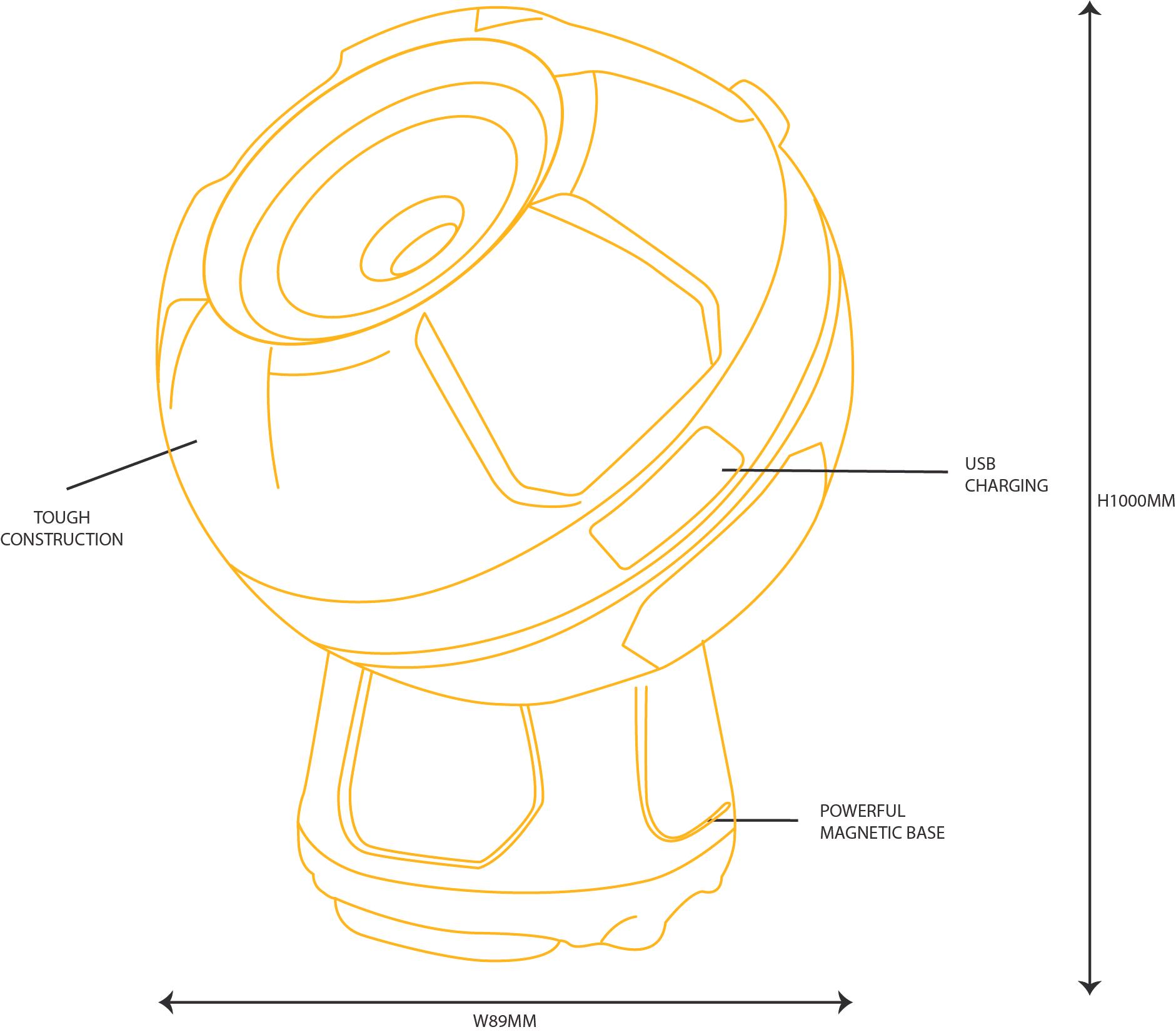 Globe Light [diagram]